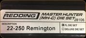 Redding - Master Hunter Die Set - 22-250 Remington - 28106
