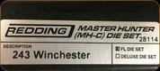 Redding - Master Hunter Die Set - 243 Winchester - 28114