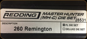 Redding - Master Hunter Die Set - 260 Remington - 28531