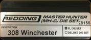 Redding - Master Hunter Die Set - 308 Winchester - 28155