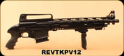 "Revolution Armory - 12Ga/3""/17"" - TKPV12 - Pump Action - Matte Black Synthetic, 3 Mobile Chokes ( F, M, IC)"