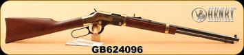 "Henry - 22LR - Golden Boy - Lever Action - American Walnut/Blued, 20"" Octagon Barrel, S/N GB624096"