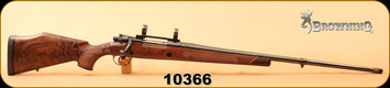 "Consign - Browning FN - 308NormaMag - Safari - Belgium Browning High Power Safari Grade, Walnut/High Gloss Blued, 28""Barrel, Factory Muzzle Brake, c/w 1""rings"