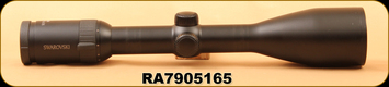 Used - Swarovski - Z6 - 2.5-15x56, #4 Reticle