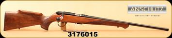 "Anschutz - 22LR - Model 1712 Silhouette Sportsman - Walnut/Blued, 22""Barrel, MFG# 007594, S/N 3176015"