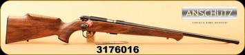 "Anschutz - 22LR - Model 1712 Silhouette Sportsman - Walnut/Blued, 22""Barrel, MFG# 007594, S/N 3176016"