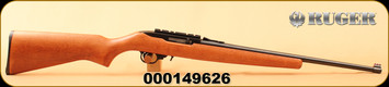 "Consign - Ruger - 22LR - 10/22 Carbine - Hardwood Stock/Blued, 20""Barrel, firesights, scope rail"