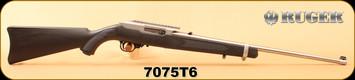 """Consign - Ruger - 22LR - 10/22 DLASK Custom - Blk Syn/Stainless, 22""""Barrel, metal trigger, c/w scope rail"""