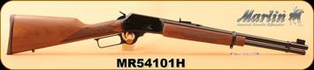 "Marlin - 357Mag/38Spl - Model 1894C - Checkered Walnut/Blued, 18.5""Barrel, 9-shot tubular magazine, MFG# 70410, S/N MR54101H"