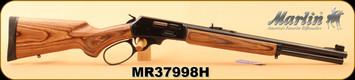 "Marlin - 45-70Govt - Model 1895GBL - Big Loop Lever Action, Lam/Bl, 18.5"", Semi Buckhorn sights, 6-shot tubular magazine - MFG# 70456, S/N MR37998H"