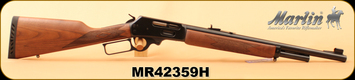 """Marlin - 45-70Govt - 1895G - Lever Action - American Black Walnut; Includes Checkered-Cut Straight Grip, Ventilated Recoil Pad And Swivel Studs/Blued, 18.5"""", Mar-Shield Finish, MFG# 70462, S/N MR42359H"""
