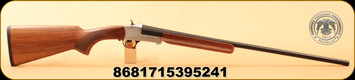 "Huglu - 28Ga/2.75""/26"" - 301A - Turkish Walnut/Silver Receiver/Blued Barrel"
