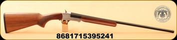 "Huglu - 28Ga/2.75""/26"" - 301A - Turkish Walnut/Silver Reciever/Blued Barrel, 5pc mobile choke"