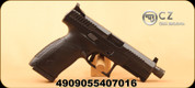 "CZ - 9mm - P-10 C - Semi-Auto Pistol - Black, 4.6"" Threaded Barrel, Striker Fired, Mfg# 4909-0639"