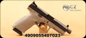 "CZ - 9mm - P-10 C - Semi-Auto Pistol - Urban Gray, 4.6"" Threaded Barrel, Striker Fired, Mfg# 4909-0640"