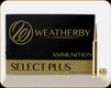 Weatherby - Select Plus - .338-378 Wby Magnum - 225 Gr- Ultra-High Velocity - 20 Ct