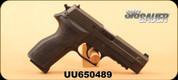 "Consign - Sig Sauer - 9mm - P226R Nitron Elite - Black Hard Coat Anodized, 4.4""Barrel, Short Reset Trigger(SRT), Aftermarket Trijicon Sights, XS Sight System, c/w 3 mags - in original case"