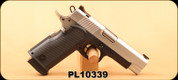 "Used - BUL - 9mm - M5 Commander - Black/Stainless, 4.21""Barrel, c/w 1 mag - In original hard case"