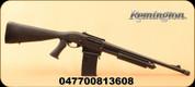 "Remington - 12Ga/3""/18.5"" - Model 870 DM Tactical - Pump Action Shotgun - Black Tactical Pistol Grip Stock/Matte Blued Finish, 6 Rounds, Detachable Box Magazine Mfg# 81360"