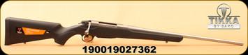 "Tikka - 7mm-08Rem - T3x Lite - Black Synthetic/Stainless, 22.4""Barrel, 1:9.5 Twist, 3rd magazine"