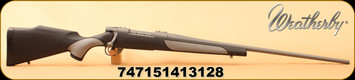 "Weatherby - 257Wby - Vanguard Weatherguard - Black Synthetic w/ Griptonite/Tactical Grey Cerakote, 26""Barrel, Two-Stage Adjustable Trigger - Mfg# VTG257WR6O"