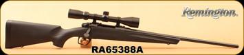 "Consign - Remington - 243Win - Model 783 Scoped - Black Synthetic/Blued, 22""Barrel, c/w 3-9x40mm Scope, Duplex"