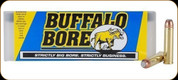Buffalo Bore - 460 S&W Mag - 300 Gr - Jacketed Flat Nose - 20ct - 26A