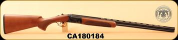 "Huglu - 410Ga/3""/28"" - 103D - O/U - Turkish Walnut/Case Hardened Receiver/Blued, 5pcs. Mobile Choke, S/N CA180184"