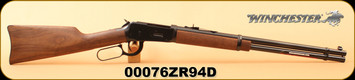 """Winchester - 25-35Win - Model 1894 Carbine Lever Action Rifle -Walnut Stock/Blued Finish, 20"""" Barrel 7 Rounds, S/N 00076ZR94D"""