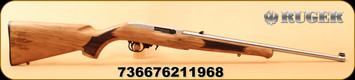 """Ruger - 22LR - 10/22 Classic III - Semi-Auto - Deluxe Altamont French Walnut/Stainless, 20""""Barrel, TALO Exclusive, Mfg# 21196"""