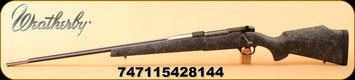 """Weatherby - 300WbyMag - Mark V Accumark - Left Hand - Black w/Gray Spiderweb Synthetic Stock/Stainless Steel, 26"""" Fluted Stainless Steel Barrel, 3 Rounds"""