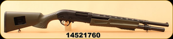 "Consign - Hatsan - 12Ga/3""/20"" - Escort AimGuard - Green Speed Stock/Matte Black Receiver/Blued"