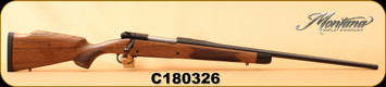 "Montana Rifle Company - 30-06Sprg - American Legends Rifle (ALR) - AA Grade American Black Walnut/Chromoly blued steel, 24"", #2 Contour Barrel, recessed crown, S/N C180326"