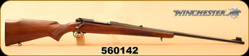 "Consign - Winchester - 264WinMag - Pre 1964 Model 70 - Wd/Bl, 26"" Barrel - All original, Manufactured in 1962 - low round count"