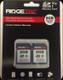 Ridgetec - High Speed Memory Card - 8 GB - Double Pack