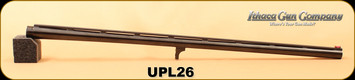 "Used - Ithaca - 20Ga/3""/26"" - M37 Upland Combo Shotgun Barrel - Featherlight - Blued Finish, ventilated top-rib barrel"
