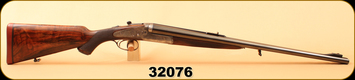 "Consign - Holland & Holland - 500-465NE - Dominion - Double Rifle - French Walnut/Engraved Case Hardened Receiver/Blued, 24""Barrels"