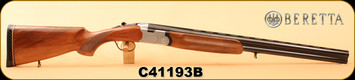 "Consign - Beretta - 12Ga/2.75""/26"" - Model S686 Special - Wd/Silver Receiver/Blued Barrel"