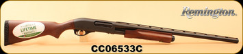 "Consign - Remington - 12Ga/3""/26"" - 12Ga/3""/20"" Rifled - 870 Express Super Magnum Combo - Pump Action -  Checkered Hardwood Stock/Blued Barrels, Mfg#25114 - Unfired - New in box"