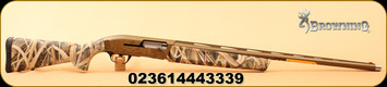 "Browning - 12Ga/3.5""/28"" - Maxus Wicked Wing - Semi Auto Shotgun - Composite Mossy Oak Shadow Grass Blades Camo/Burnt Bronze Cerakote Finish, 4 Rounds, Mfg#011670204"
