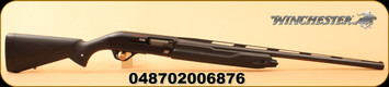 "Winchester - 12Ga/3.5""/28"" - Super X4  - Semi Auto Shotgun - Black Synthetic/Blued, 4 Rounds, Invector-Plus Choke System, Mfg# 511205292"