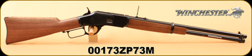 "Winchester - 45Colt - Model 1873 Carbine - Lever Action Rifle - Black Walnut Stock/Blued Finish, 20""Barrel, Magazine Capacity: 10, Mfg# 534255141, S/N 00173ZP73M"