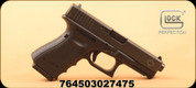 "Glock - 9mm - 19 Gen4 - Black/Maple Leaf Slide/ Modular Back Strap, 4.17"" Glock Factory Barrel, 10 Round, Mfg# UG195X206N"