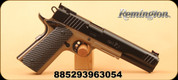 "Remington - 10mm Auto - 1911 R1 Hunter - Semi Auto Pistol - Black G10 Grips/FDE Finish, 6"" Barrel, 8 Rounds, Long Slide, Mfg# 96305"