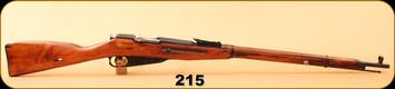 """Consign - Mosin Nagant - 762x54R - Wd/Bl, 28.5""""Barrel"""
