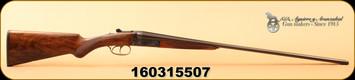 """Consign - AYA - 410Ga/3""""/27"""" - Model No.4/53 - SxS - Upgraded Wood/Case Hardened Frame & Triggers/Polished Blued Barrels, Splinter forearm, Prince of Wales grip"""