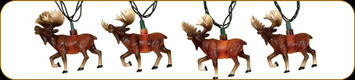 Moose Decorative Party Lights