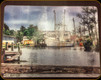 Tempered Glass Cutting Board - Harbor View