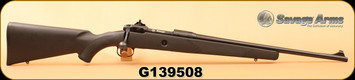 "Used - Savage - 308Win - Model 10 - BlkSyn/Blued, 20""Barrel, Iron sights, c/w 3 magazines, Picatinny rail"