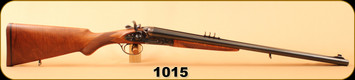 "Consign - Pedersoli - 45-70 - Kodiak Mark IV - Double Rifle - Select Walnut/Case Hardened/Blued, 24""Barrel"